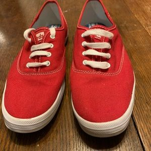 Women's Red Keds Size 10